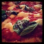 GF Margherita pizza